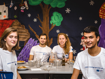 Külföldi önkéntesek magyar óvodákban