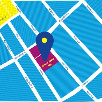Tempus Közalapítvány térképe